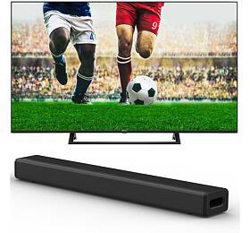 SET UHD LED TV Hisense 65A7300F + Soundbar Hisense HS214 - Hisense