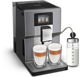 Kávovar Krups Intuition Preference+ EA875E10 chrome & milk pot - Krups