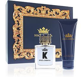 Dolce & Gabbana K by Dolce & Gabbana toaletní voda 50 ml + balzám po holení 75 ml Pro muže dárková sada - Dolce & Gabbana