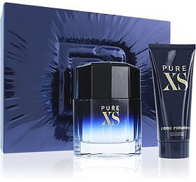 Paco Rabanne Pure XS toaletní voda 100 ml + sprchový gel 100 ml Pro muže dárková sada - Paco Rabanne