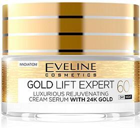 Eveline Cosmetics Gold Lift Expert o mlazující denní a noční krém-sérum 60+ 50 ml - Eveline Cosmetics