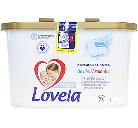 Lovela Baby gelové kapsle na praní 12 ks - Lovela