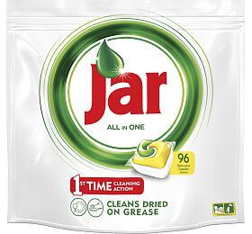 Jar All in One Lemon kapsle do myčky nádobí 96 kusů - Jar