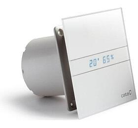CATA e100 GTH sklo hygro časovač bílý - Cata
