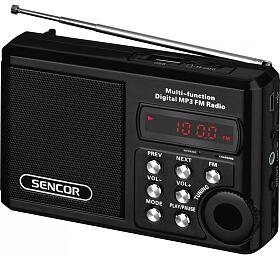 Rádio s USB/MP3 Sencor SRD 215 B - Sencor
