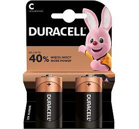 Baterie alkalická Duracell Basic C, LR14, 1.5V, blistr 2ks - DURACELL