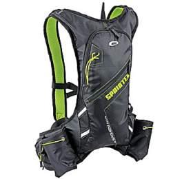 Batoh sportovní Spokey SPRINTER cyklistický a běžecký 5l, voděodolný - zeleno/černý - Spokey