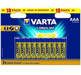 SUPER AKCE - Baterie Varta LR03 ALKALINE LONGLIFE - Varta