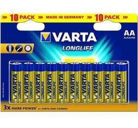 SUPER AKCE - Baterie Varta LR06 ALKALINE LONGLIFE - Varta