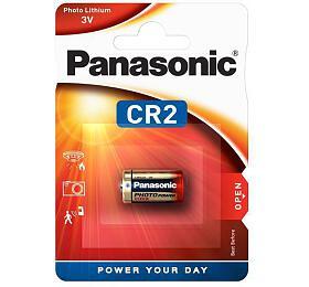 Baterie lithiová Panasonic CR2, blistr 1ks - Panasonic