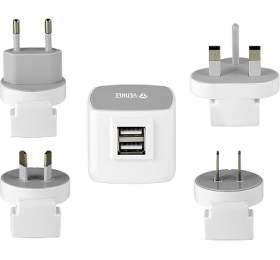 Cestovní adaptér Yenkee YAT 202 USB 3.5A - Yenkee