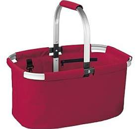 Nákupní košík skládací Tescoma SHOP!, červená - Tescoma
