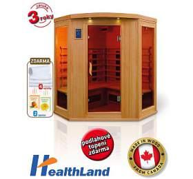 Infrasauna HealthLand DeLuxe 4440 CB/CR - HealthLand