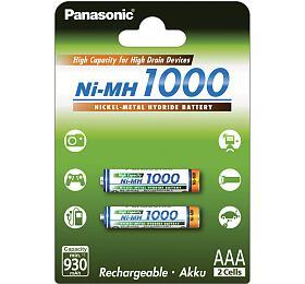 Nabíjecí mikrotužkové baterie Panasonic 4HGAE/2BE AAA 2x 1000 - Panasonic
