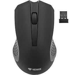 Počítačová bezdrátová myš Yenkee YMS 2015GY WL Monaco černá - Yenkee