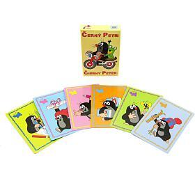 Černý Petr Krtek společenská hra - karty v krabičce 6x9cm - Akim