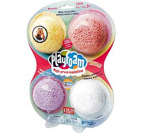 PlayFoam Modelína/Plastelína kuličková 4 barvy na kartě 18x27x4cm - PEXI