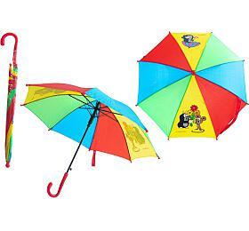 Deštník Krtek mechanický 2 obrázky 57x8cm - Rappa
