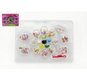 Kreativní sada korálky plast v krabici 32x23x3cm - Teddies