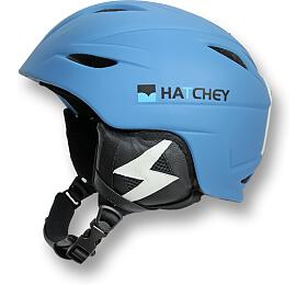 Lyžařská helma Hatchey FLASH Blue, S (54-56 cm) - Hatchey