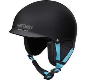 Lyžařská helma Hatchey SKILL Black, S (53-56 cm) - Hatchey