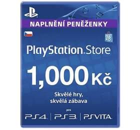 Předplacená karta PlayStation Live Cards Hang 1000Kč - pouze pro CZ PS Store - Sony