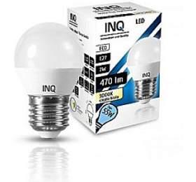 LED žárovka INQ, E27 ilum.7W P45, teplá bílá   IN716474 - Ostatní
