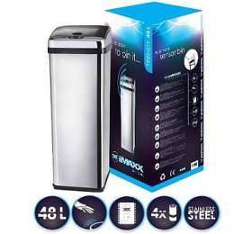 Odpadkový koš HiMAXX Trendy senzorový 48L - HiMAXX