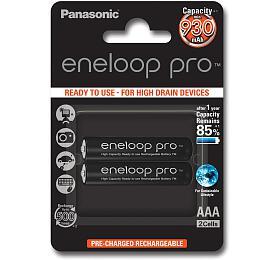 Nabíjecí mikrotužkové baterie Panasonic HR03 AAA 4HCDE/2BE ENELOOP PRO - Panasonic