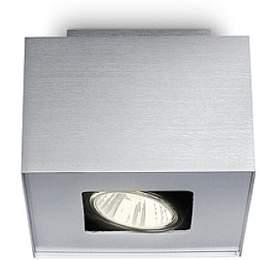 Tempo SVÍTIDLO BODOVÉ GU10 50W bez zdroje, hliník Philips 56230/48/PN - Philips lighting