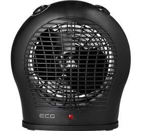 Teplovzdušný ventilátor ECG TV 30, černý - ECG