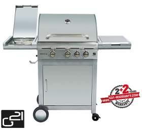 Gril zahradní plynový G21 California BBQ Premium Line, 4 hořáky + REDUKČNÍ VENTIL! - G21