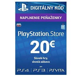 PlayStation Live Cards 20 EUR Hang pro SK PS Store (PS719899440) - Sony