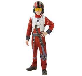 Star Wars EP7: X-Wing Fighter Pilot maska - Rubies
