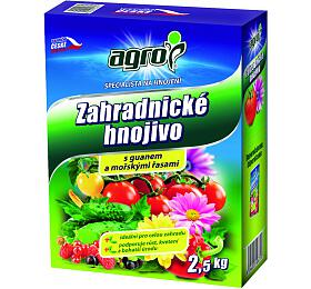 Hnojivo Agro zahradnické 2.5kg - Agro
