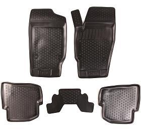 Gumové koberce Seat Ibiza IV (6J) (08-) (2D) SIXTOL - Sixtol