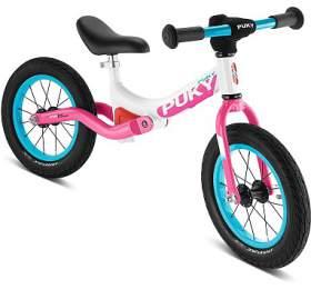 Odrážedlo PUKY LR Ride bílo-růžové - PUKY