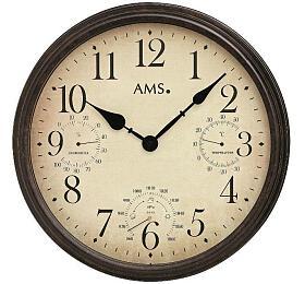 Nástěnné hodiny 9463 AMS meteostanice 42cm - AMS