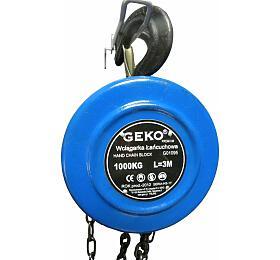 Kladkostroj řetězový 1000kg GEKO - GEKO