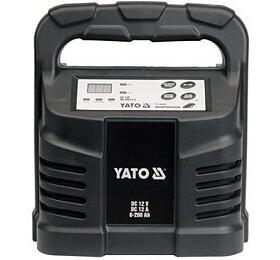 Elektronická nabíječka, 12A, 12V, procesor YATO - Yato