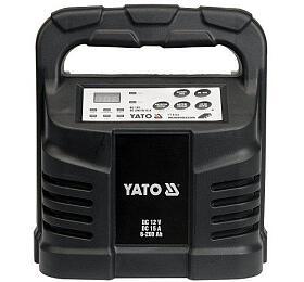 Elektronická nabíječka, 15A, 12V, gel/procesor YATO - Yato