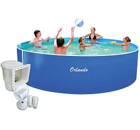 Bazén Marimex Orlando 3,66 x 0,91m + skimmer Olympic (bez hadic a schůdků) (10340197) - Marimex