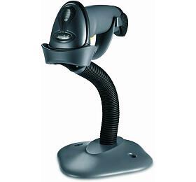Čtečka Motorola LS2208, snímač čarového kódu, KIT, black, USB virtual KEY (LS2208-SR20007R-UR) - Motorola