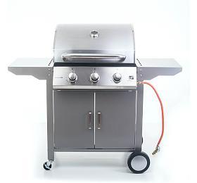 Plynový gril G21 Oklahoma BBQ Premium Line 3 hořáky + redukční ventil - G21
