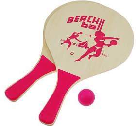 Plážový tenis set SportTeam, růžový - SportTeam