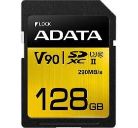 ADATA SDXC 128GB UHS-II U3 (290/260MB) (ASDX128GUII3CL10-C) - ADATA
