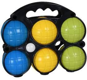 Petanque plastový 6ks SportTeam, v plast pouzdře - SportTeam