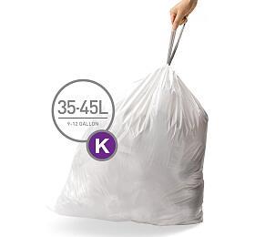 Sáčky do odpadkového koše 35-45 L, Simplehuman typ K, zatahovací, 20 ks v balení CW0171 - Simplehuman