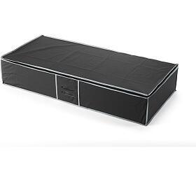 Textilní úložný box na oblečení pod postel Compactor URBAN 90 x 45 x18 cm – černý - Compactor