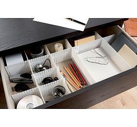 Organizér do zásuvky Compactor Free - bílý - Compactor